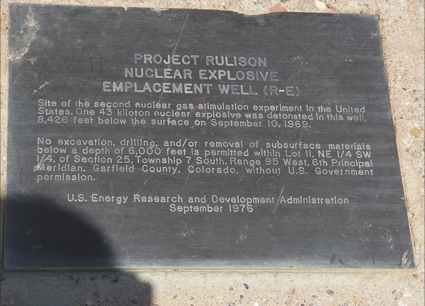 1969 - Project Rulison - 2
