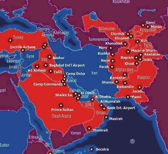 Will US Military Bases All Over The World Ever Close - Us military bases global map