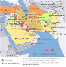 The TexasMexican MafiaIranian Revolutionary Guard Connectionor - Map of us military bases in middle east