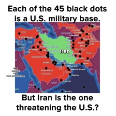 Shifting Targets Iran In The Crosshairs Again View From The - Map of us bases around iran