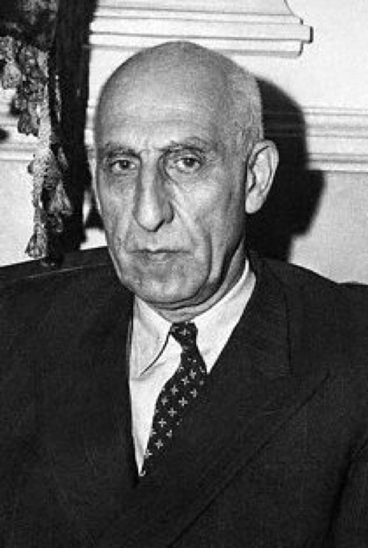 Mohammed Mossadegh, Iranian prime minister who nationalized Iranian oil and was overthrown in an C.I.A. orchestrated coup d'etat in 1953
