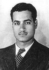 Gamal Abdul Nasser in law school - 1937
