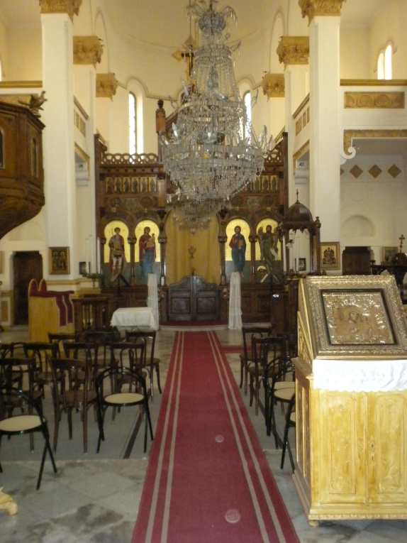 The Greek Orthodox Church in Tunis, recently desecrated by Salafist mobs