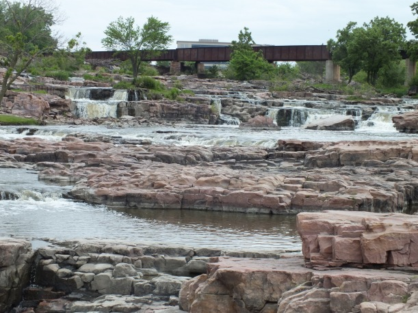 The falls at Sioux Falls