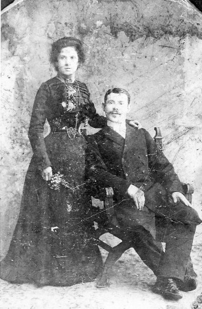 1900 - Sarah and Julius Magaziner, Bialystok, Poland (my maternal grand parents)