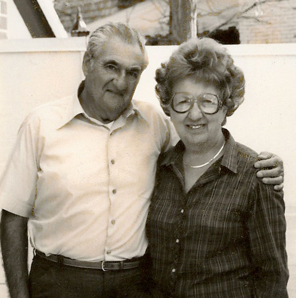 Rudy and Betty Schware - February, 1986