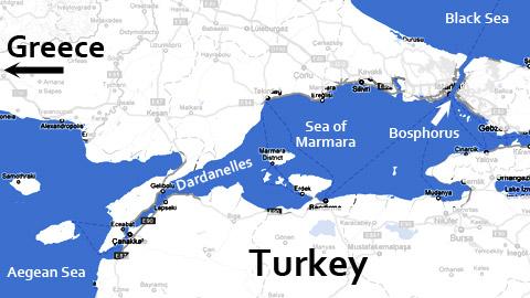 bosphorus-map