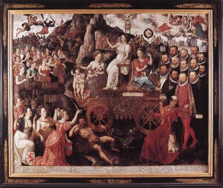 An allegory of th Pacification of Ghent – 1577 attempt at religious peace between Dutch Catholics and Protestants