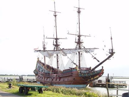 Replica of the Batavia – Dutch East Indies commercial ship from early 1600s