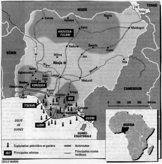 Nigeria - Oil Regions