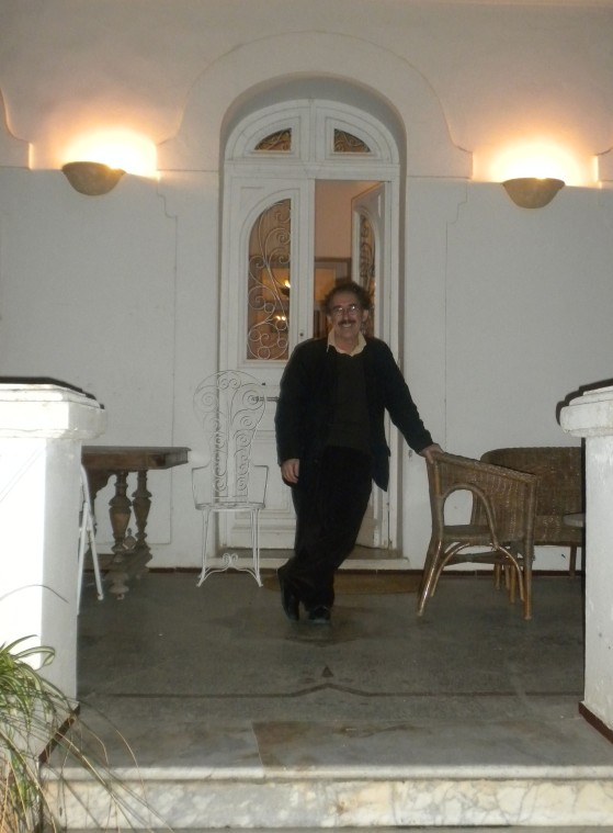 Ferid Boughedir at home...