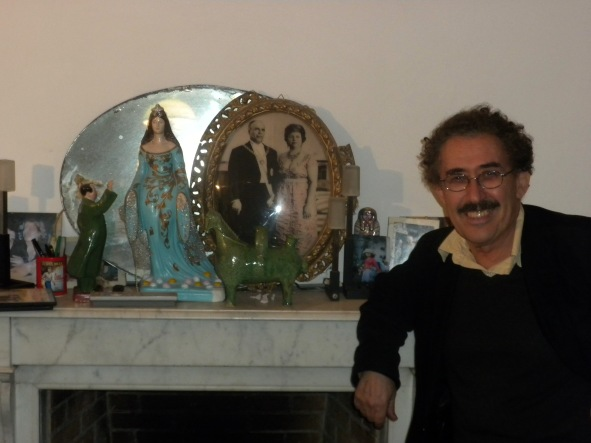Ferid Boughedir - December, 2011, La Marsa
