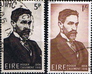 Irish stamp commemorating Roger Casement