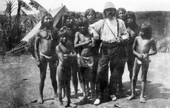 Roger Casement, 1913, among the Putumayo native peoples enslaved to gather rubber for the Peruvian Amazon Company