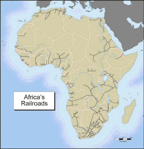 Africa - Railroads
