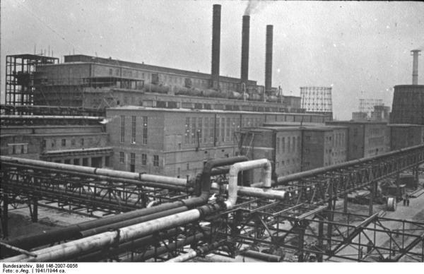 IG Farben Synthetic Rubber Factory, Auschwitz - Monowitz-Buna