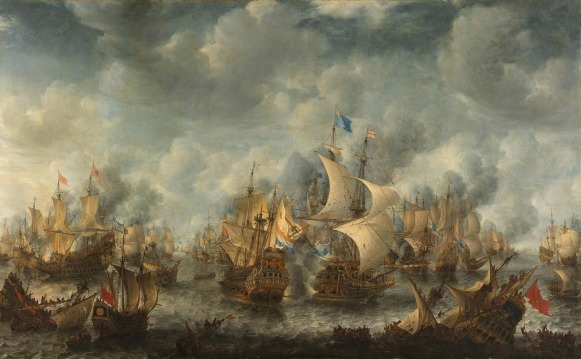 1653 - Battle of Terheide - August 10, 1653 - First Anglo-Dutch War