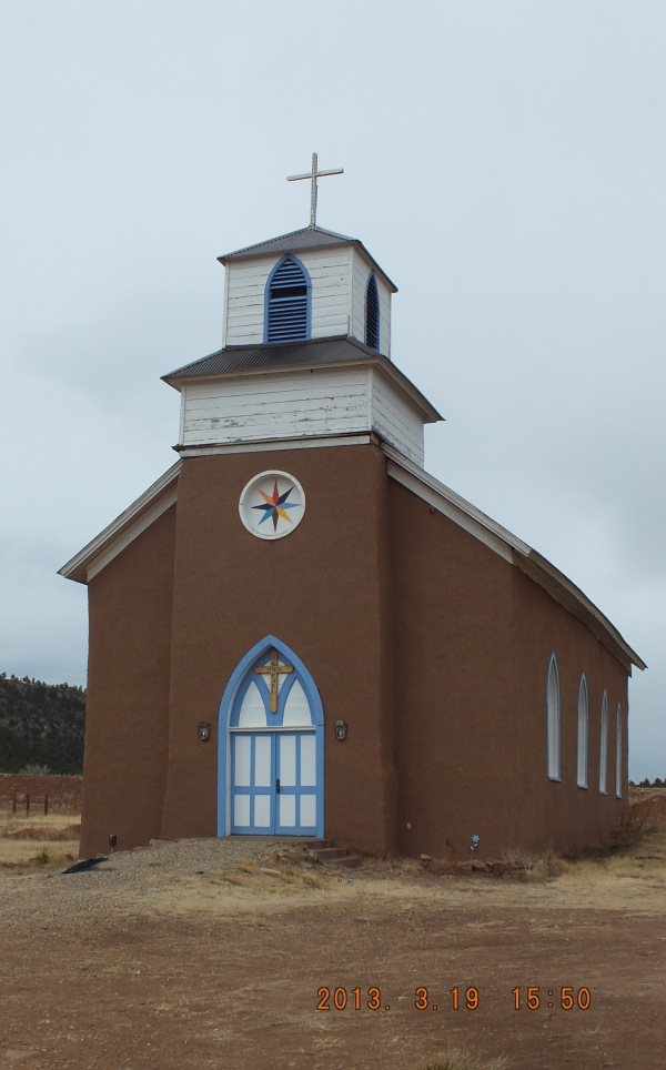 Catholic Church, outside of Mora, New New Mexico (March, 2013)