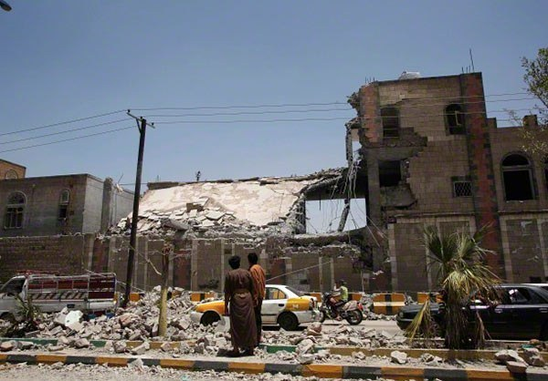 Saudi Bombing of Yemeni Civilian Areas