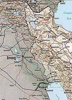 Iraq-Iran Border