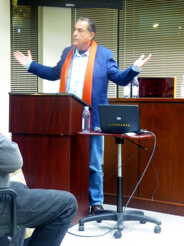 Gideon Levy in Greenburgh, New York on October 19, 2015