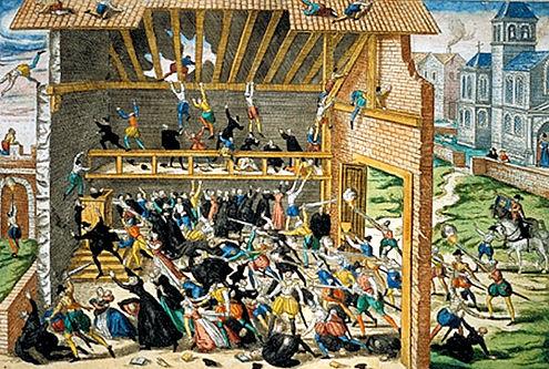 Vassy Massacre of 1562 - one of 40 prints by Holgenberg