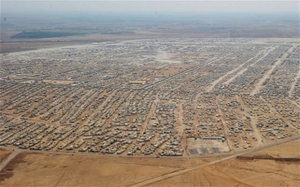 As far as the eye can see: Syrian refugee camp in Jordan