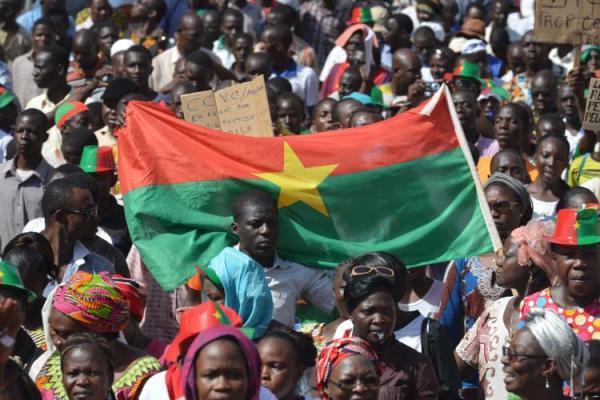 Citizen's Revolt in Burkina faso - 2014