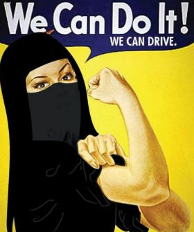 "Technically they (Saudi women) can ""Do It!"", but legally, it is still forbidden, partially on the grounds that driving negatively affects their ovaries and interfers with child bearing, a dubious arguement. As recently as December 2015, Saudi women were given the right to vote and run in local elections...but they still can't drive."