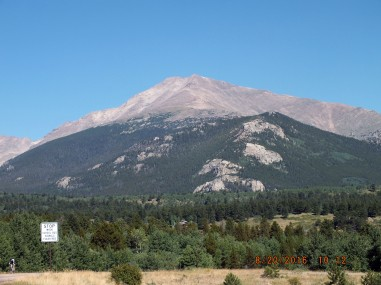 Mount Meeker - one of the favorite Colorado mountains I have never climbed.