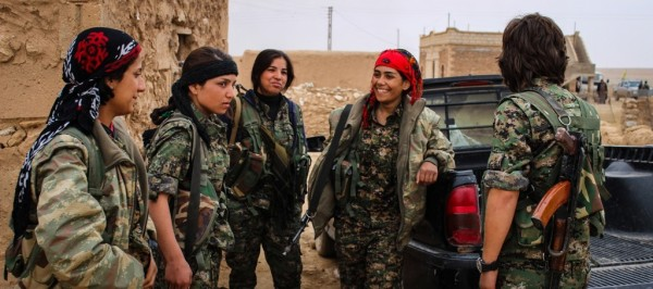 Kurdish women fighters in Syria - some of the most capable in fighting ISIS