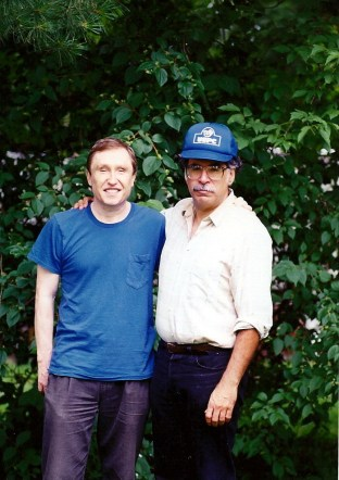 Dan Cetinich and me, July, 1994 in Rutland, Vermont