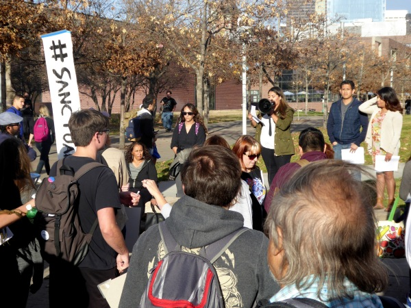 Students calling for