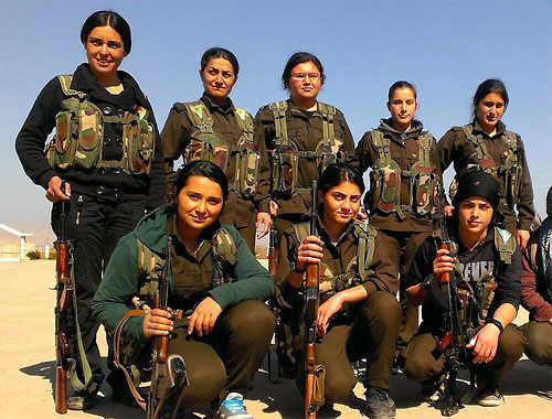 Kurdish women have turned out to be particularly disciplined, effective fighters against ISIS units in Syria and Iraq