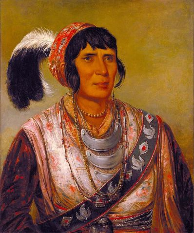 Oseola - painting by George Catlin. In 1836, Osceola led a small group of warriors in the Seminole resistance during the Second Seminole War, when the United States tried to remove the tribe from their lands in Florida