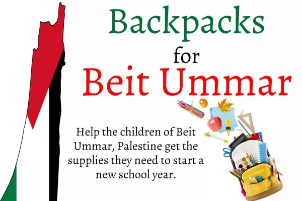 Beit Ummar Backpacks.