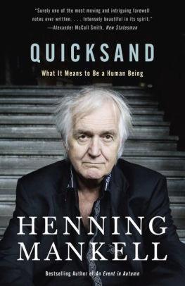Henning Mankell, Quicksand
